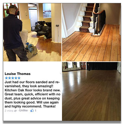 Floor sanding in Nuneaton