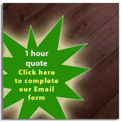 Wood foor renovation quote in Leicestershire