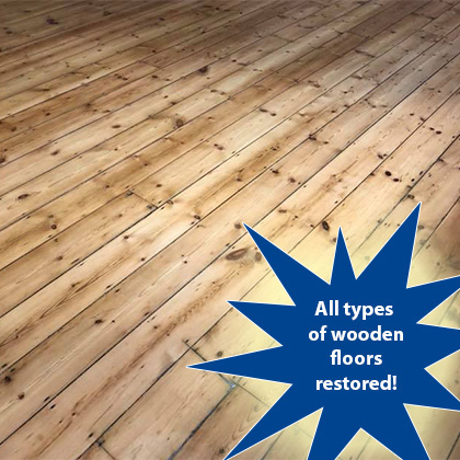Floor sanding offer in Hinckley